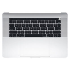661-07955 Top Case (Silver) for MacBook Pro 15-inch Mid 2017 A1707 MPTU2LL/A, MPTV2LL/A